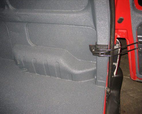 automotive polyurea binnenzijde bestelwagen polyurea